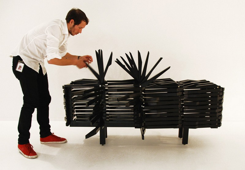 Sebastian Errazuriz The Astonishing Porcupine Cabinet by Sebastian Errazuriz porc14