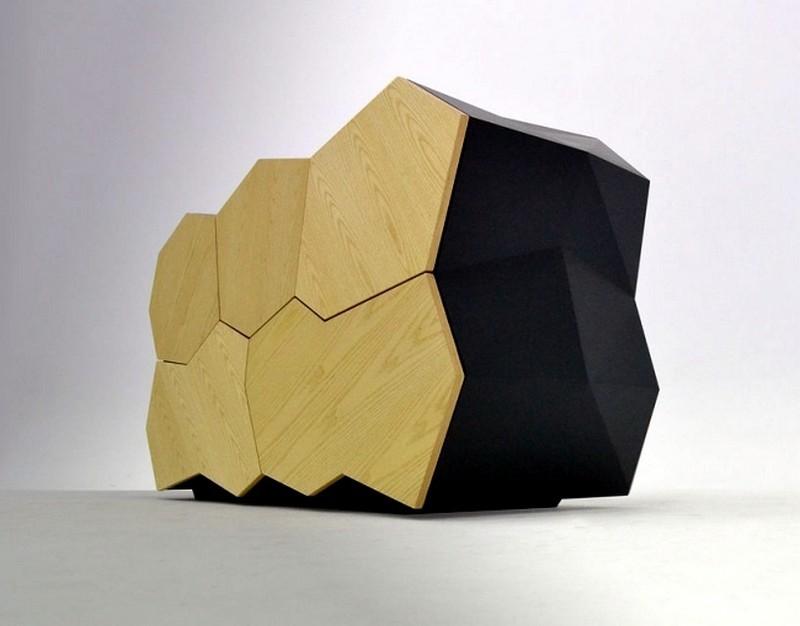 sideboard designs 50 Most Creative Sideboard Designs wooden sideboard design reflects natural landforms 5 185