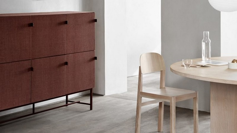Norm Architect norm architects Zen Fabric-Covered Cabinet Designs by Norm Architects 0 tone cabinets norm architects zilenzio design furniture cabinets dezeen hero