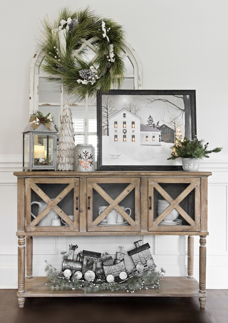 Christmas Decoration: The best Sideboards for the Holidays
