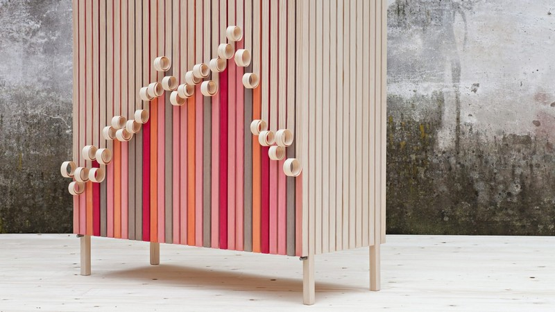 cabinet design Cabinet Design The Amazing Cabinet Design That Peels Away Over Time by Stoft 1 whittle away cabinet jenny ekdahl design dezeen 2364 hero 1 1704x959