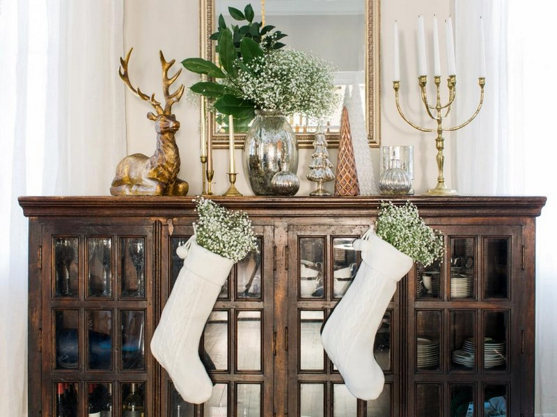 christmas decoration Christmas Decoration: The Best Sideboards for the Holidays 2 sideboard decor