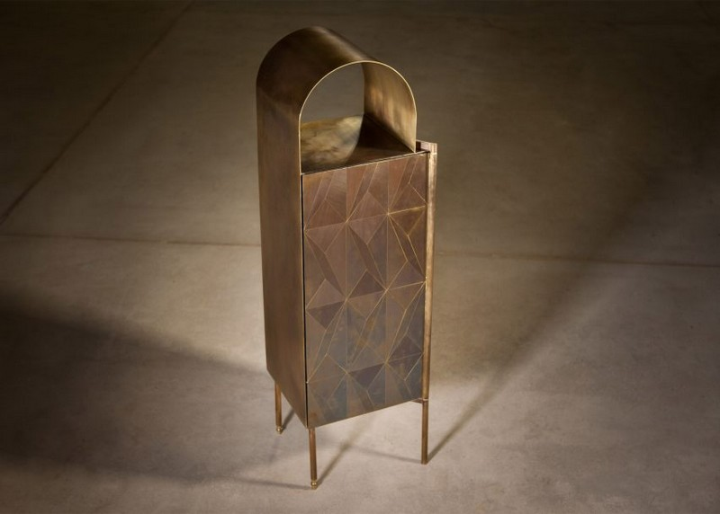 cabinet designs cabinet designs Oxidized Metal Cabinet Designs by Alessandro Zambelli 3 Oxidised Metal Cabinet Designs by Alessandro Zambelli