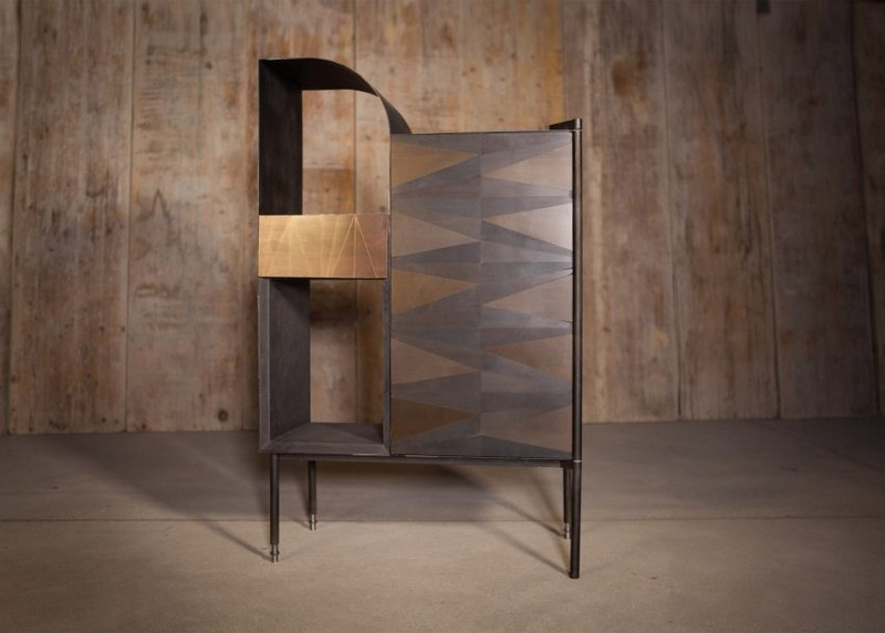 cabinet designs cabinet designs Oxidized Metal Cabinet Designs by Alessandro Zambelli 6 Oxidised Metal Cabinet Designs by Alessandro Zambelli