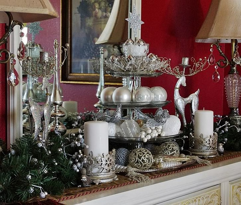 christmas decoration Christmas Decoration: The Best Sideboards for the Holidays 6 sideboard decor