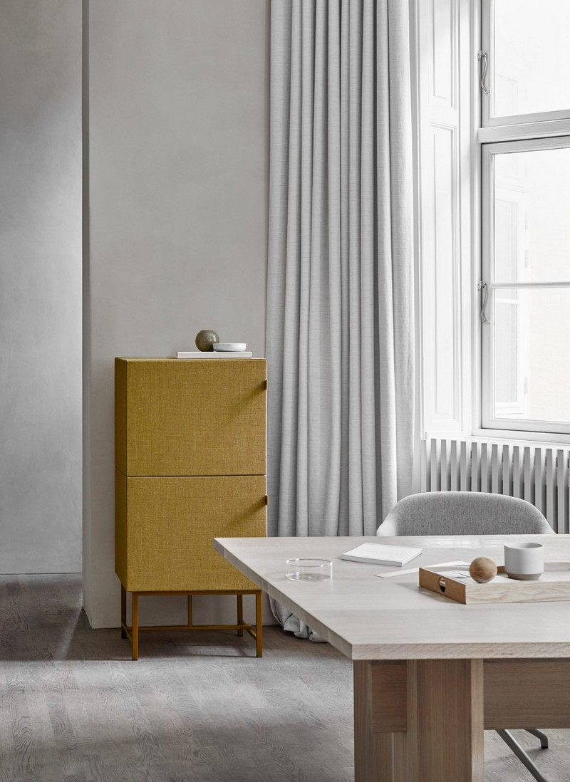 norm architects Zen Fabric-Covered Cabinet Designs by Norm Architects 6 tone cabinets norm architects zilenzio design furniture cabinets dezeen 2364 col 3