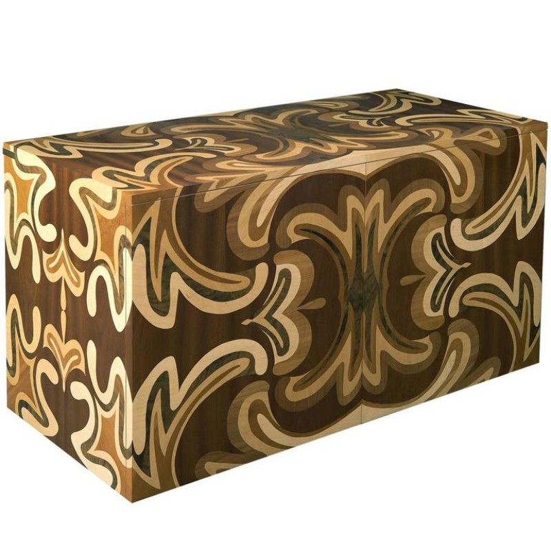 wooden sideboards 10 Wooden Sideboards With A Astonishing Front Design FRAMMI2