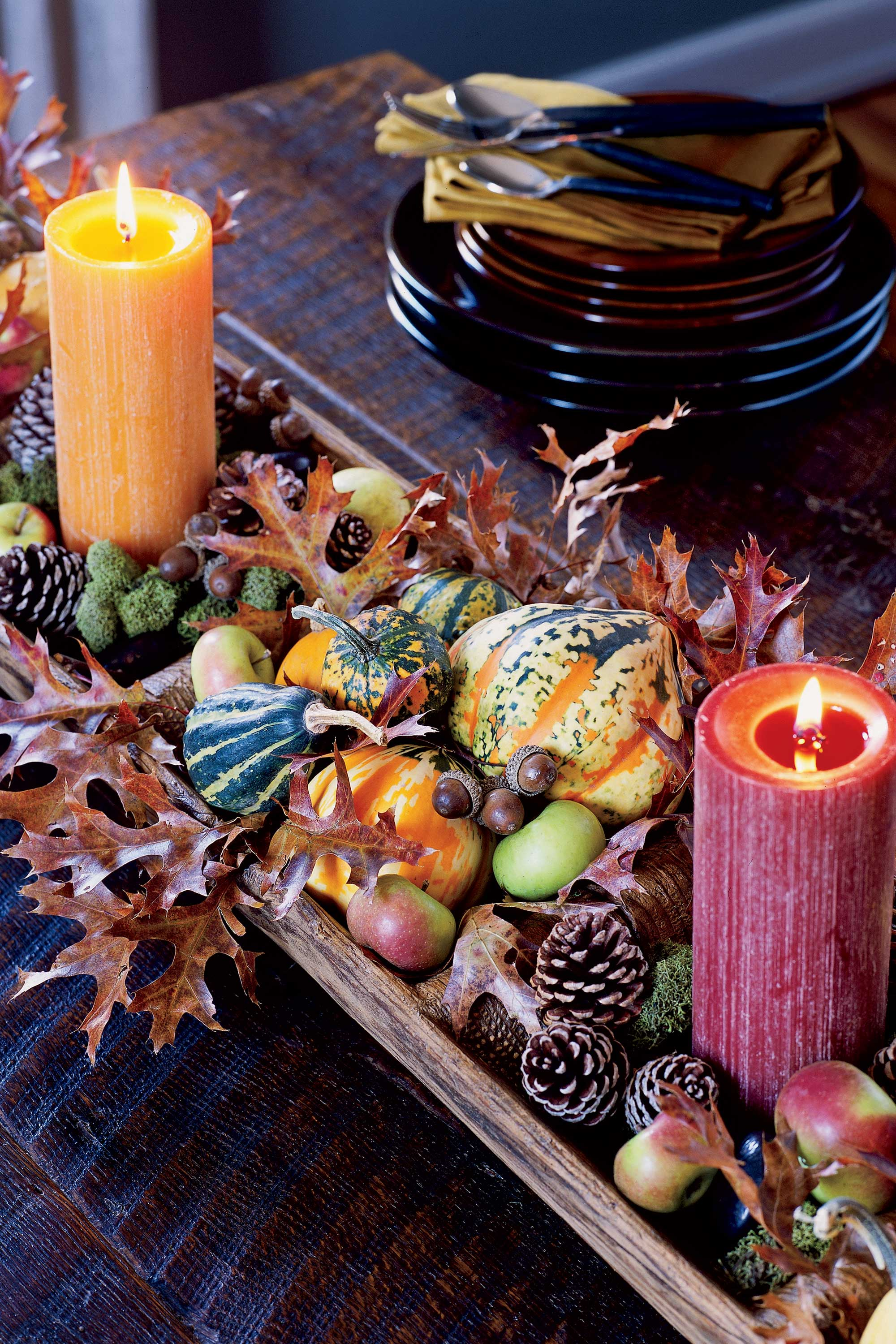 thanksgiving 10 Striking Top Interior Designers Thanksgiving Sideboard Decorations candle