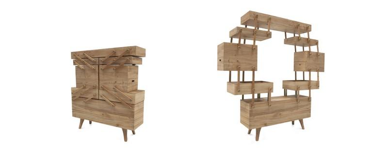 cabinet design Cabinet Design The Amazing Sewing Box Cabinet Design by Kiki Van Eijk 727 s