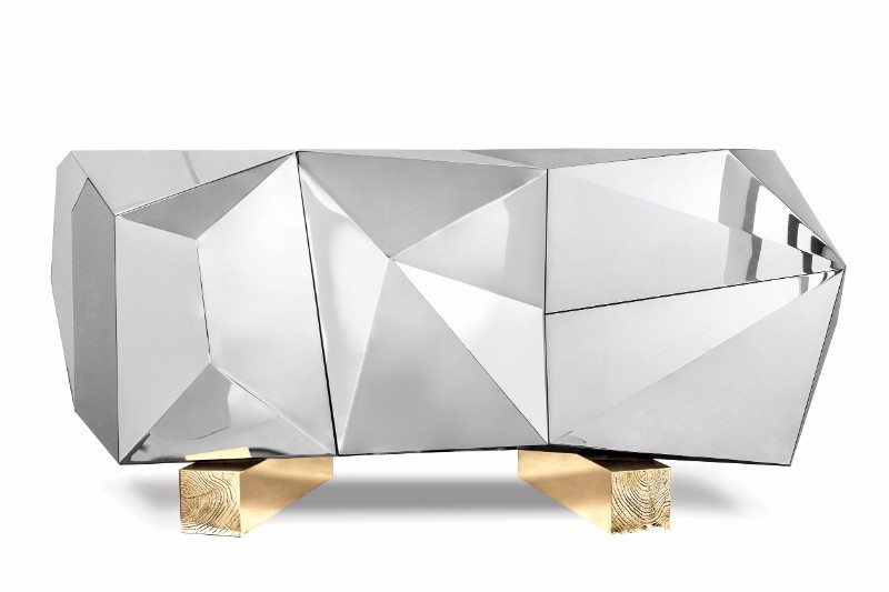 Maison et objet maison et objet Luxurious Sideboards And Cabinets On Maison Et Objet Diamond Pyrite by Boca do Lobo 6