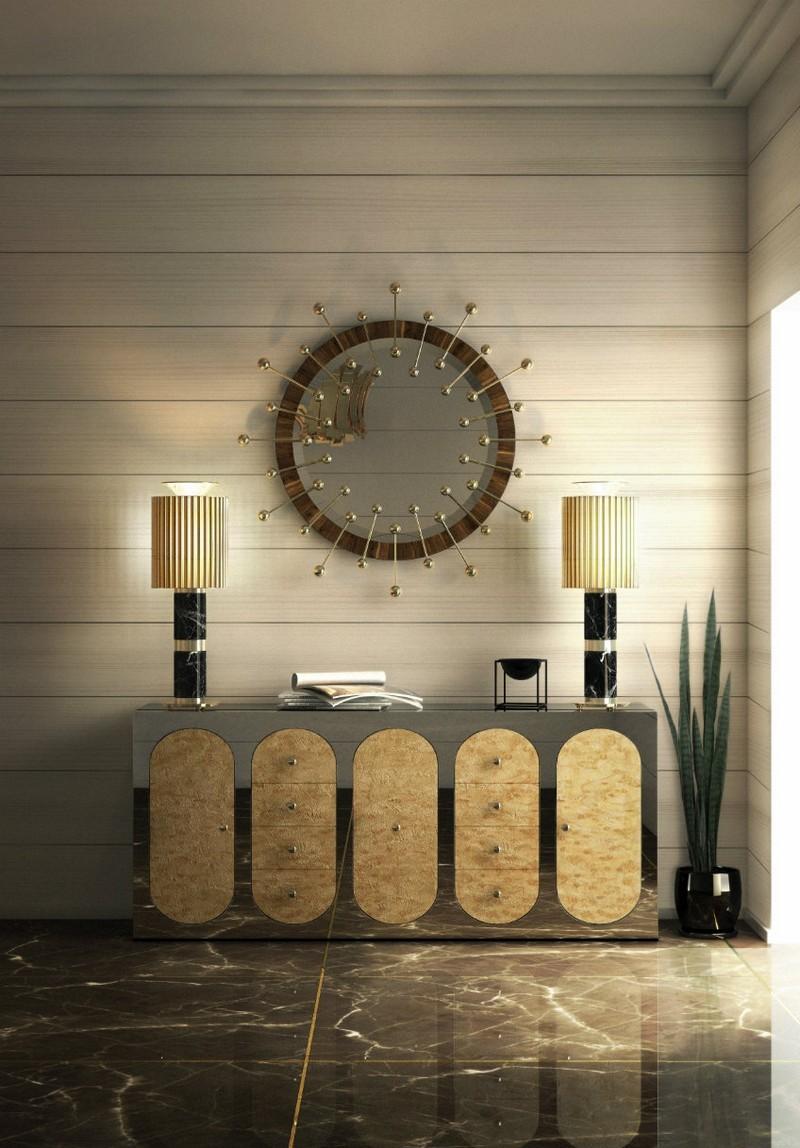maison et objet maison et objet The Best Buffets And Cabinets Exhibitors On Maison Et Objet claire sideboard mirror essential home ambiente 01