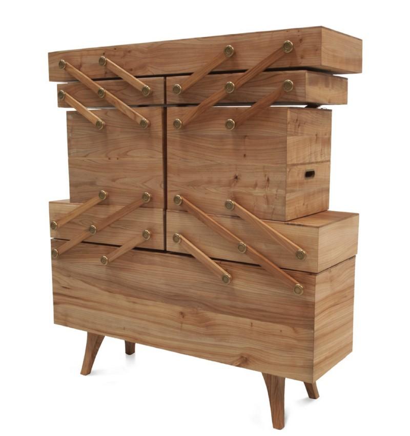Cabinet Design The Amazing Sewing Box Cabinet Design by Kiki Van Eijk sbc