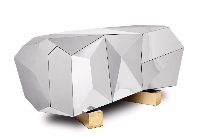 maison et objet Best Buffets and Cabinets Exhibitors at Maison Et Objet 10 Diamond pyrite sideboard boca do lobo