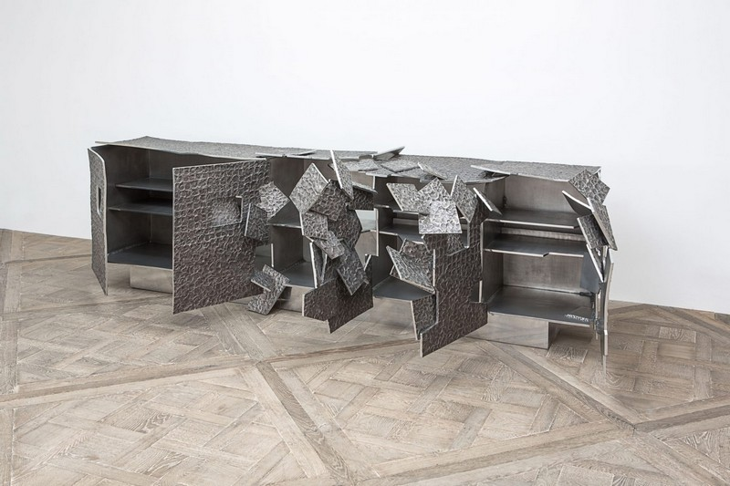 best furniture designs best furniture designs Best Furniture Designs: Vincent Dubourg's metallic Sideboard Design 4 vincent dubourg carpenters workshop gallery ny