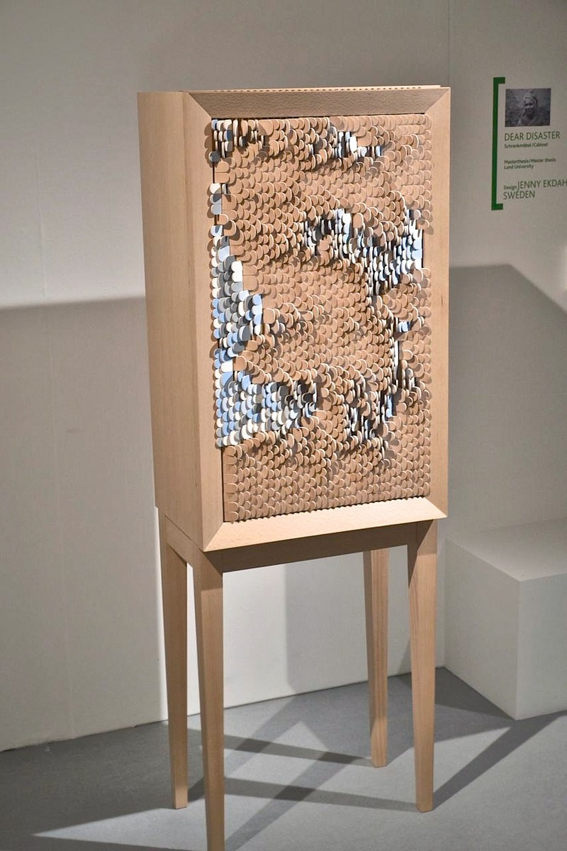 Best Furniture best furniture Best Furniture Designs: The Dear Disaster Cabinet by Jenny Ekdahl DearDisaster cabinet IMMCologne EclecticTRends