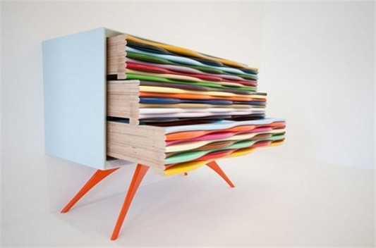 sideboard design sideboard design Colorful Sideboard Design: Edna Series by Anthony Hartley Edna 3 colorful triple drawer design 9