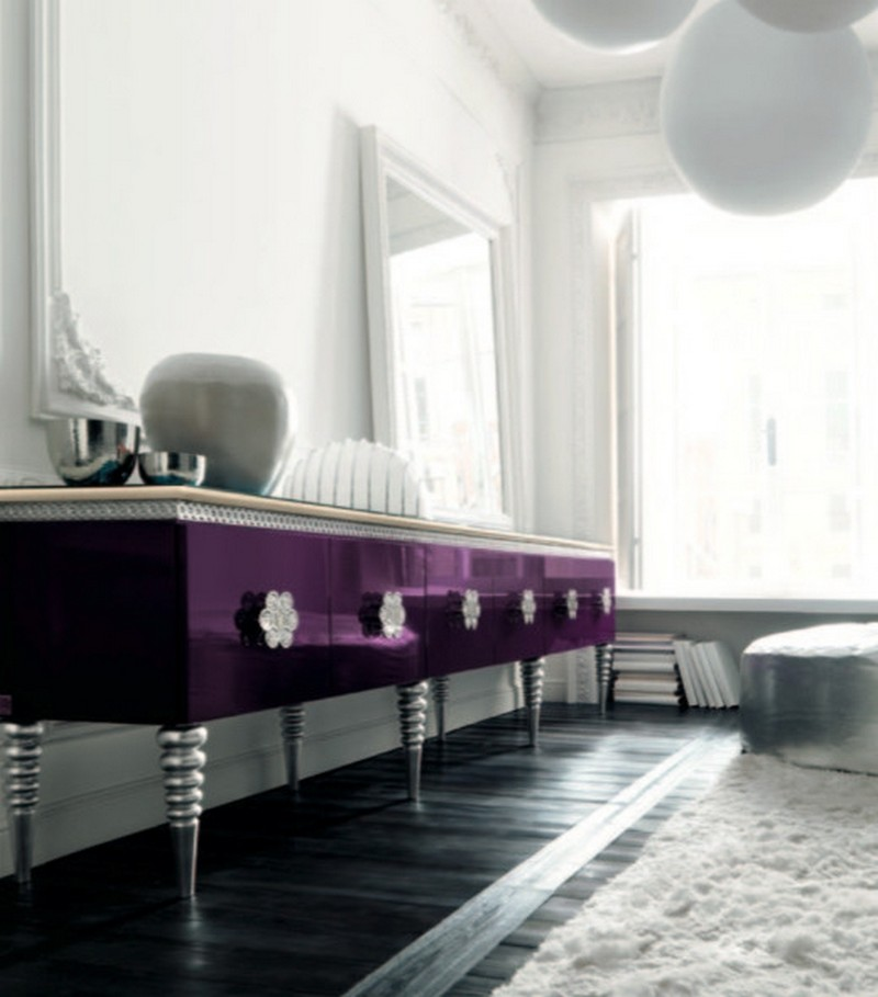 2018 trends 2018 trends 2018 Trends: Ultra Violet, the Pantone Color of the Year fascinating as well as purple sideboardaltamoda eclectic hall london purple sideboard inspiring purple sideboard