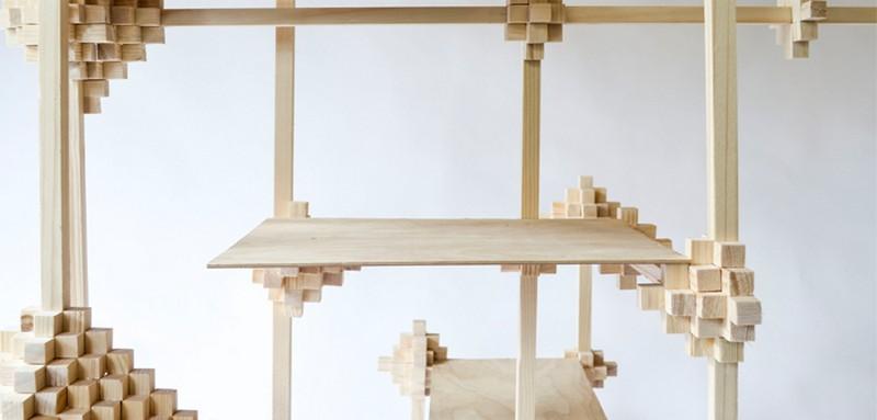 cabinet designs cabinet designs Unique Cabinet Designs: Pixel Cabinet by Pascal Smelik 1 pixel cabinet