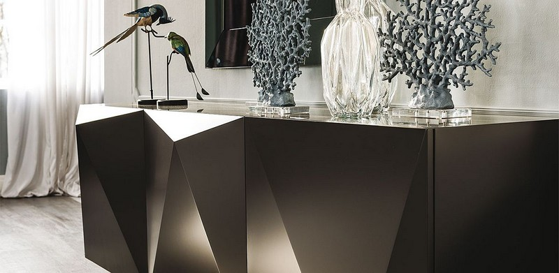 Contemporary sideboards contemporary sideboards 5 Truly Unique Contemporary Sideboards Designs 10 olished and unique face of sideboard from Cattelan Italia