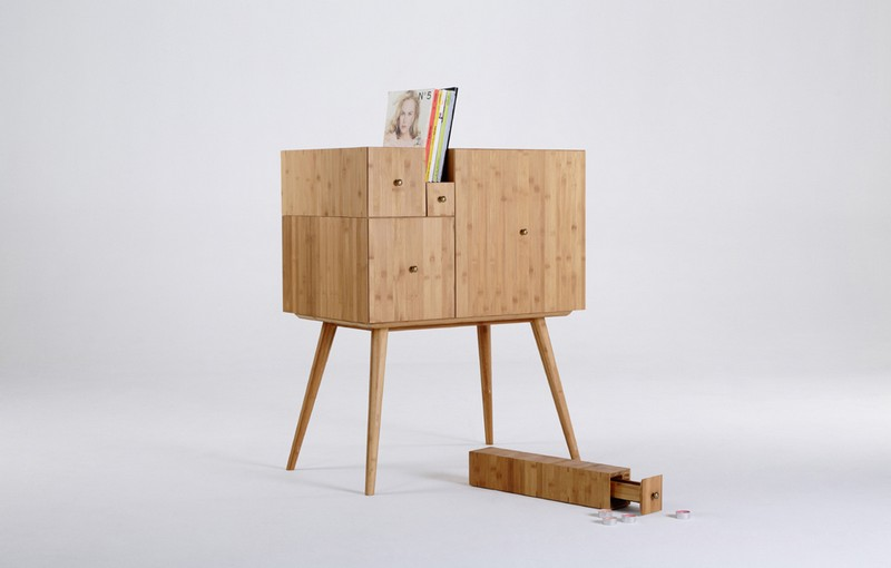 The Versatile Modern Cabinet Inspired On Fibonacci Sequence