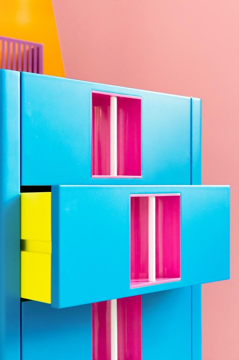 Cabinet Designs Cartoon-Inspired Cabinet Designs by Adam Nathaniel Furman 15 nakano twins adam nathaniel furman furniture design