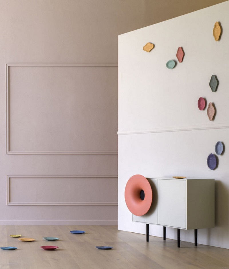 Cabinet Designs Unique Cabinet Designs: The Caruso Cabinet  by Paolo Cappello Design 2 Paolo Cappello Miniforms Caruso Speaker 2 600x704