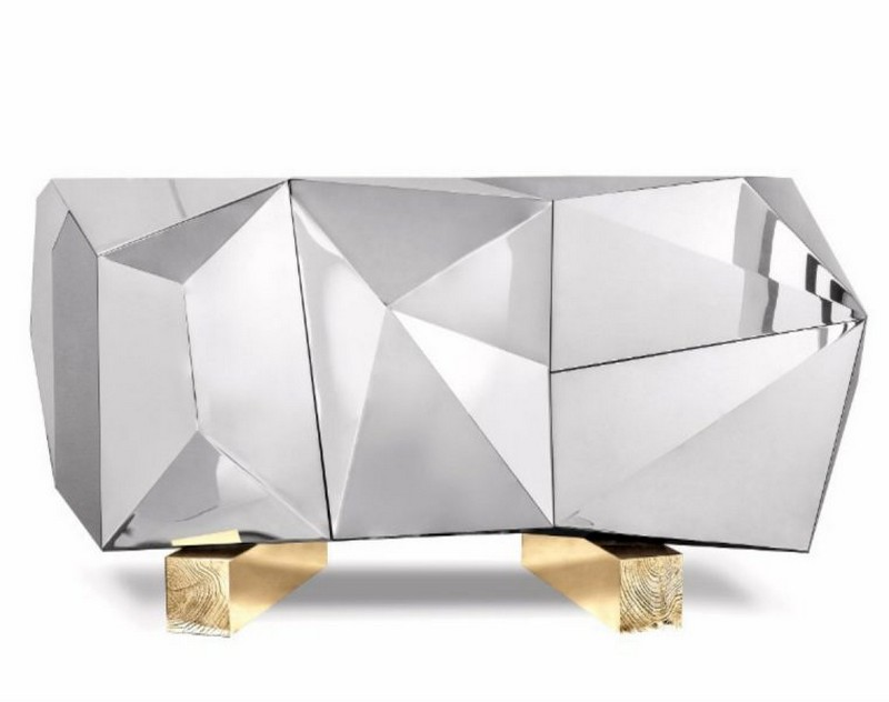 showroom Covet Paris: Discover the Best Sideboards on the New Parisian Showroom 7 Diamond Pyrite