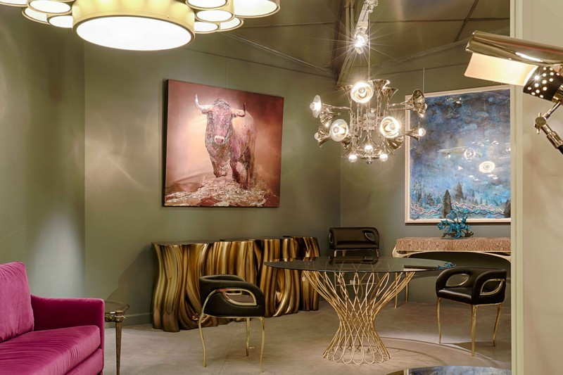 showroom Covet Paris: Discover the Best Sideboards on the New Parisian Showroom 8 Monochrome Gold Boca do Lobo