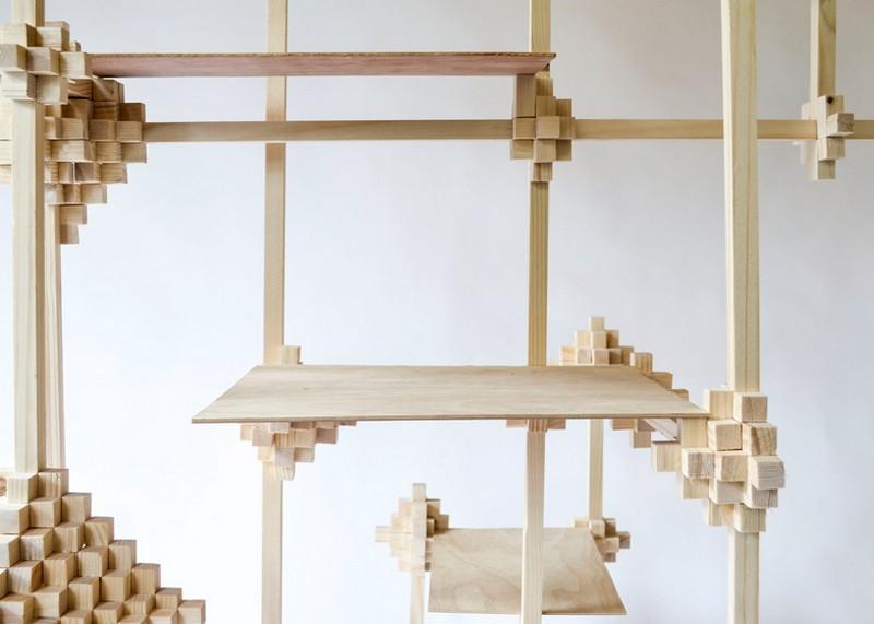 cabinet designs Unique Cabinet Designs: Pixel Cabinet by Pascal Smelik 9 Pascal Smelik Pixel Cabinet 9