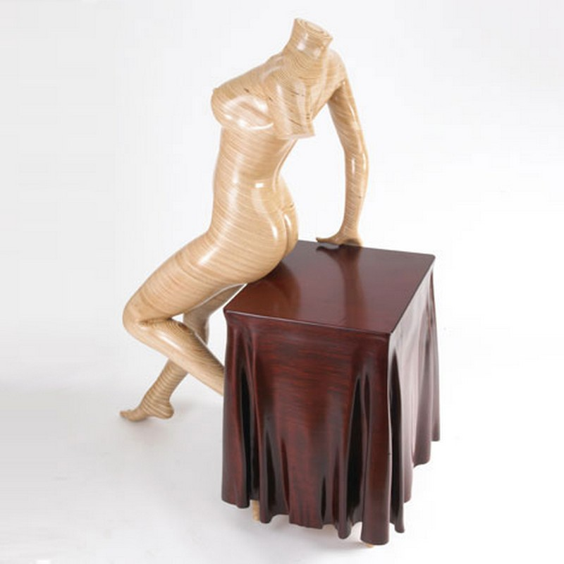 cabinet designs Cabinet Designs Unique Cabinet Designs: Nude Woman Cabinet by Peter Rolfe Gener I Large 1