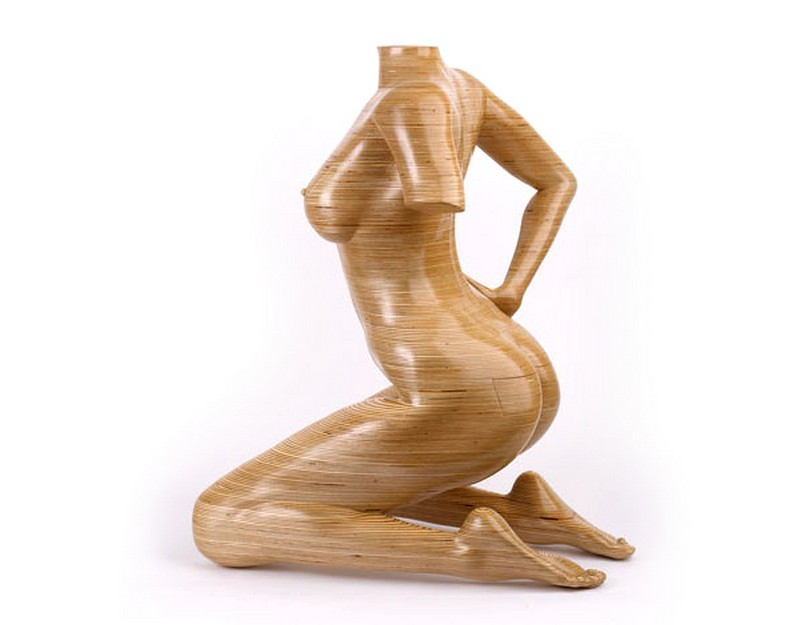 Cabinet Designs Unique Cabinet Designs: Nude Woman Cabinet by Peter Rolfe Skulpturenm  bel Design Peter Rolfe Birkenholz