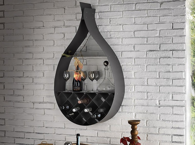 Wine Racks Amazing Wine Racks and Cabinets to Complete your Decoration 01 cattelan italia bar unit drop 03 1