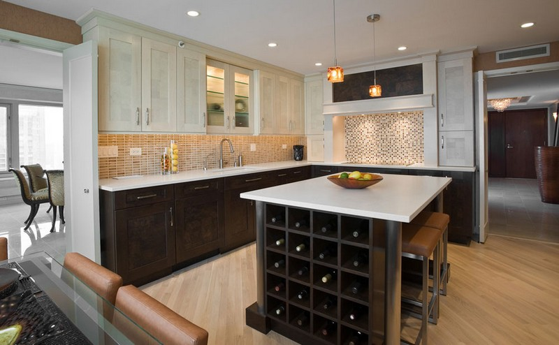 Wine Racks Amazing Wine Racks and Cabinets to Complete your Decoration 11 Kitchen by Cheryl D Company