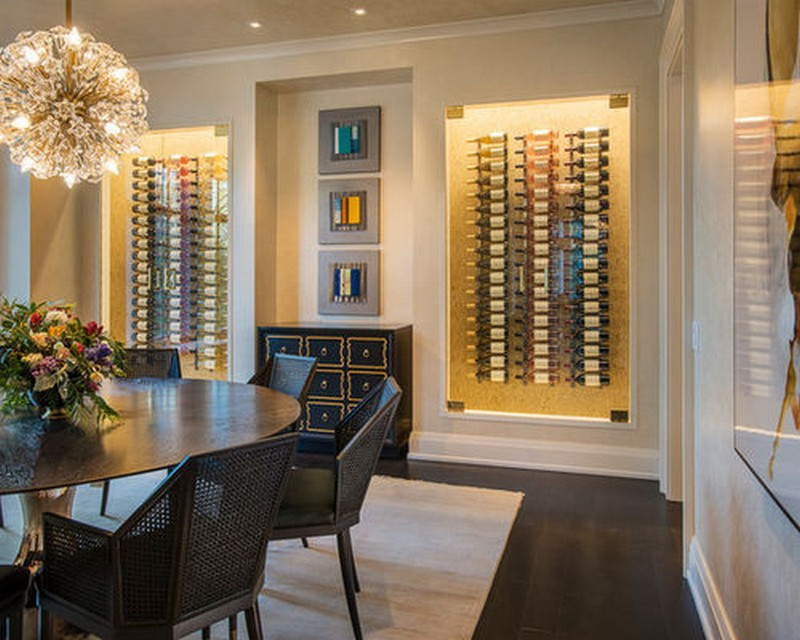Wine Racks Amazing Wine Racks and Cabinets to Complete your Decoration 16 WineCellar5