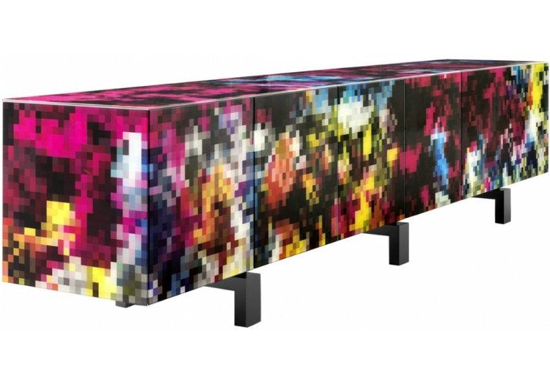sideboards and buffets 10 Sideboards And Buffets With Vibrant Tones 3  dreams bdbarcelonadesign 1 1