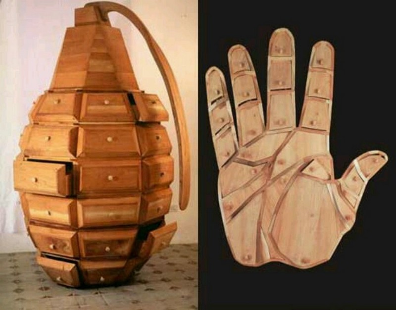cabinet designs cabinet designs 10 Strange But Extraordinary Cabinet Designs 5 Hand granade dresser