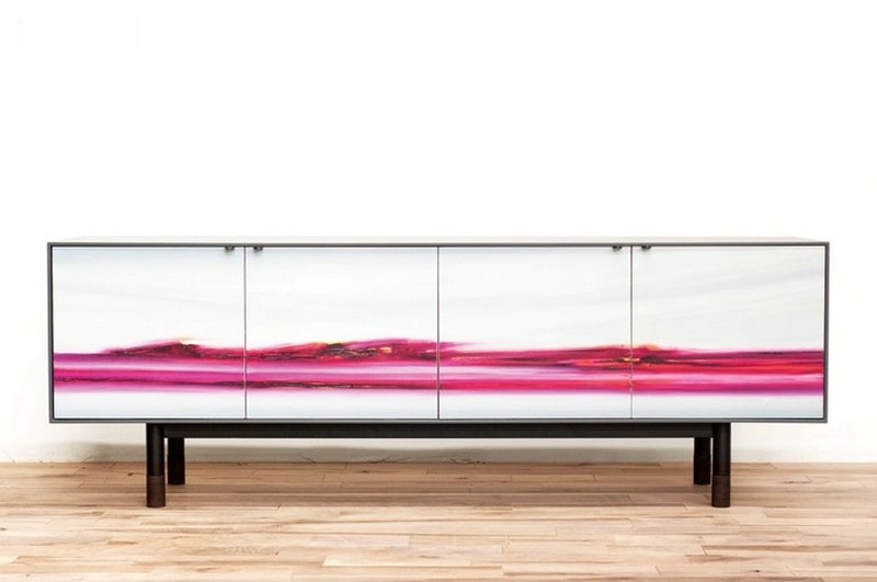 sideboards and buffets 10 Sideboards And Buffets With Vibrant Tones 5 credenza zoepawlakjeffmartin