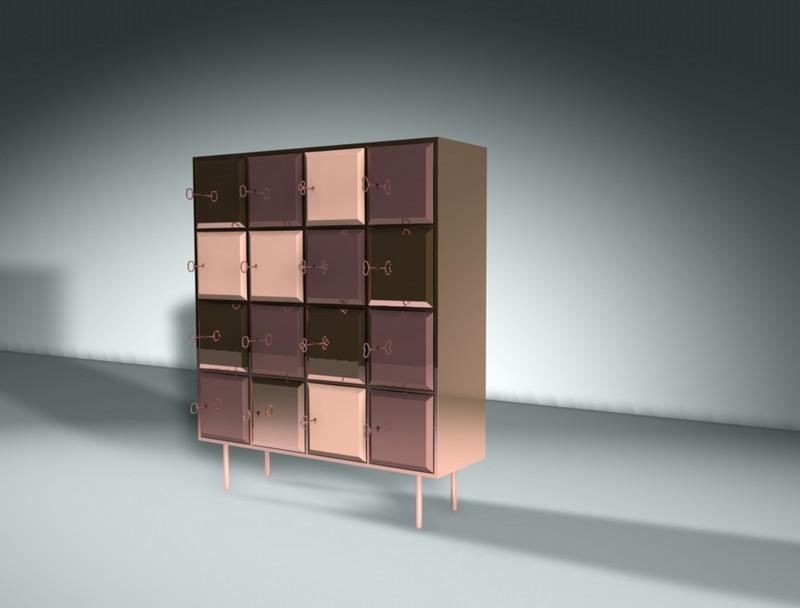 Nika Zupanc Unique Cabinet Designs: The Longing Cabinet by Nika Zupanc 5 nika zupanc longng cabinet designboom 04