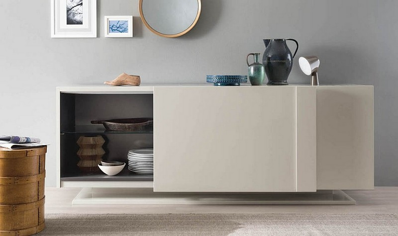 Sideboards and Buffets 10 Amazing Sideboards and Buffets with a Modern Flair 6 Minimal sideboard with plenty of style
