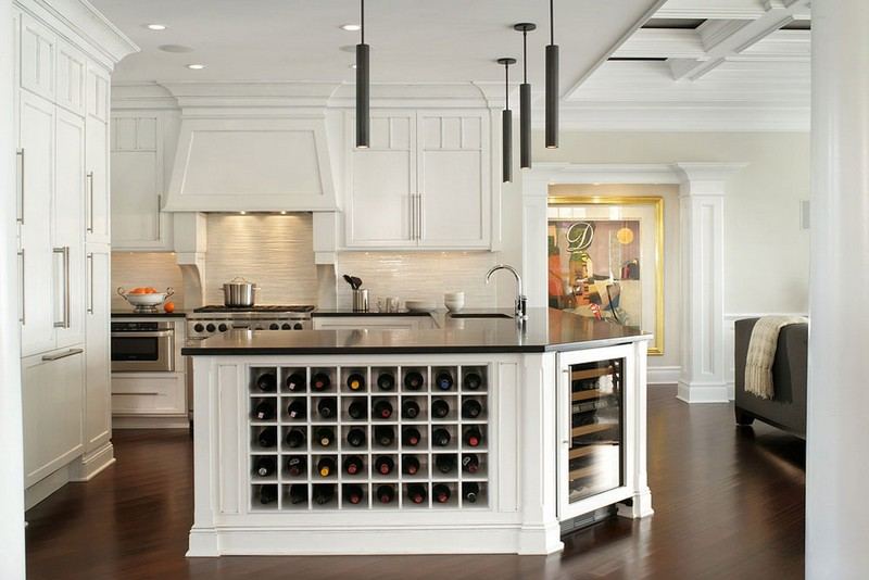 wine racks Wine Racks Amazing Wine Racks and Cabinets to Complete your Decoration 6 Monmouth Beach House by i