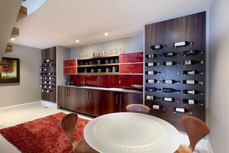 Wine Racks Amazing Wine Racks and Cabinets to Complete your Decoration 9 River Watch by Scott Christopher Homes
