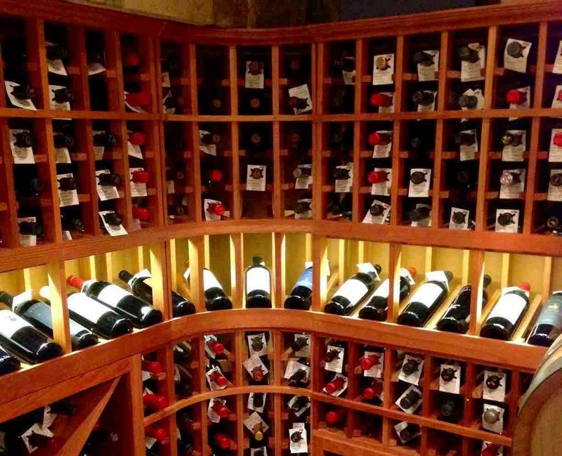 Wine Racks Amazing Wine Racks and Cabinets to Complete your Decoration Chicago Illinois Wine Cellar Lighting