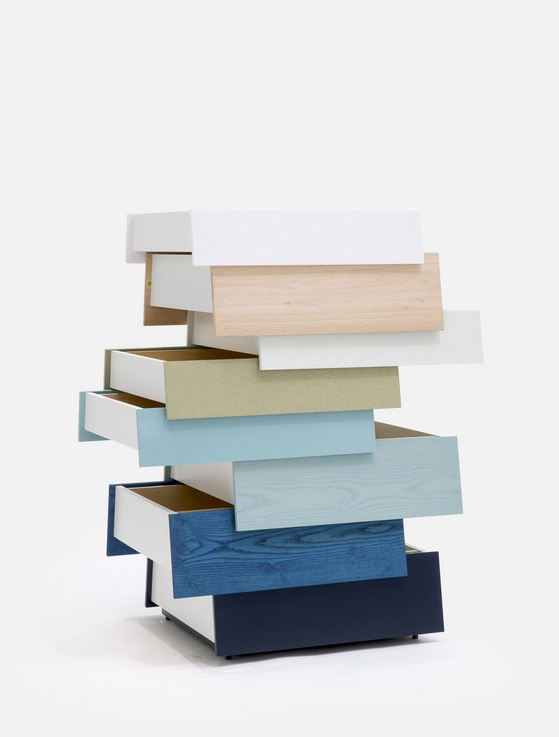 Best Furniture Best Furniture Designs: Stack Chest by Raw Edges Stack Up by Raw Edges for Established and Sons2