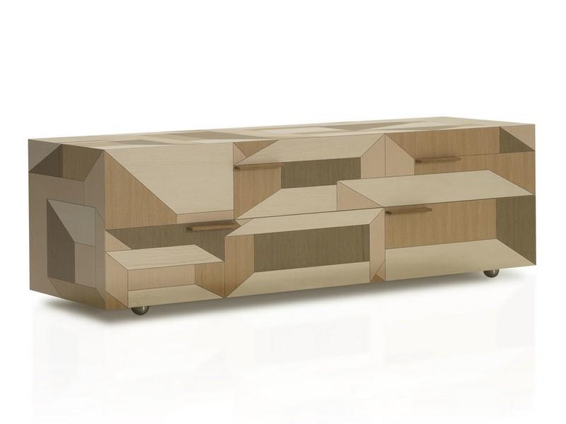 Alessandro Mendini Alessandro Mendini The Cabinet Design with Geometric Wooden Inlays by Alessandro Mendini b prodotti 30880 rel845166a6 3432 4b57 9e94 4300d5588529