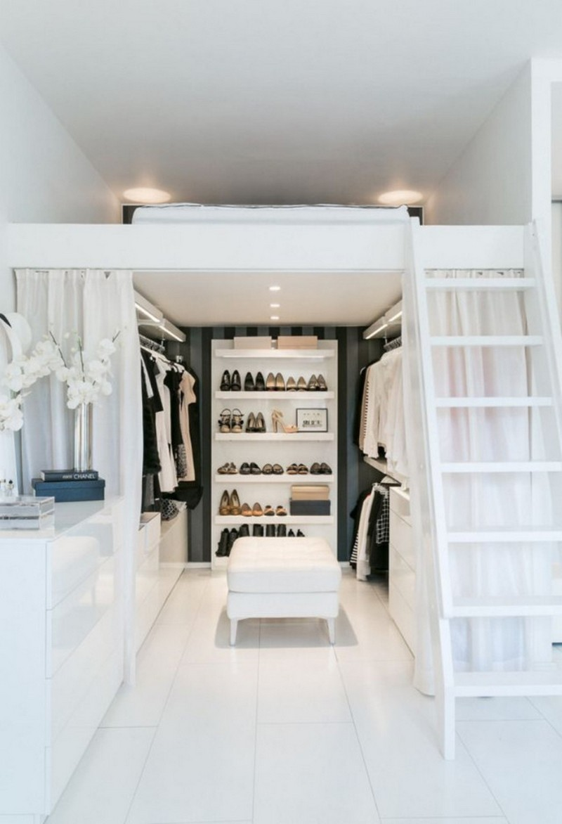 Walk-in Closets 10 Inspirational  Walk-in Closets Ideas de stadskast 3337
