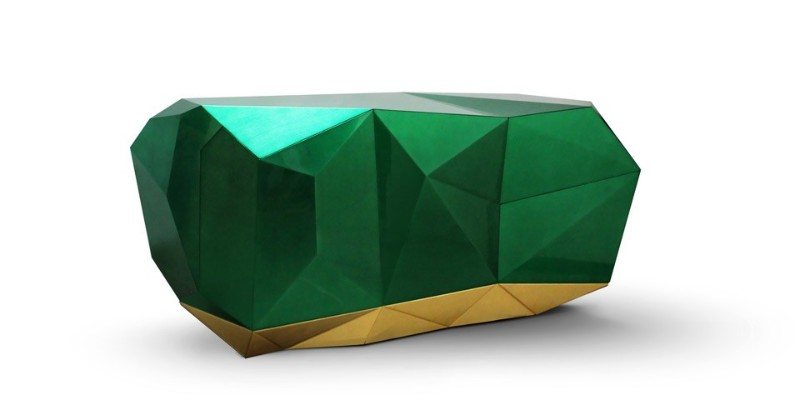 design trends Sideboard Design Trends For Spring diamond emerald 2 1