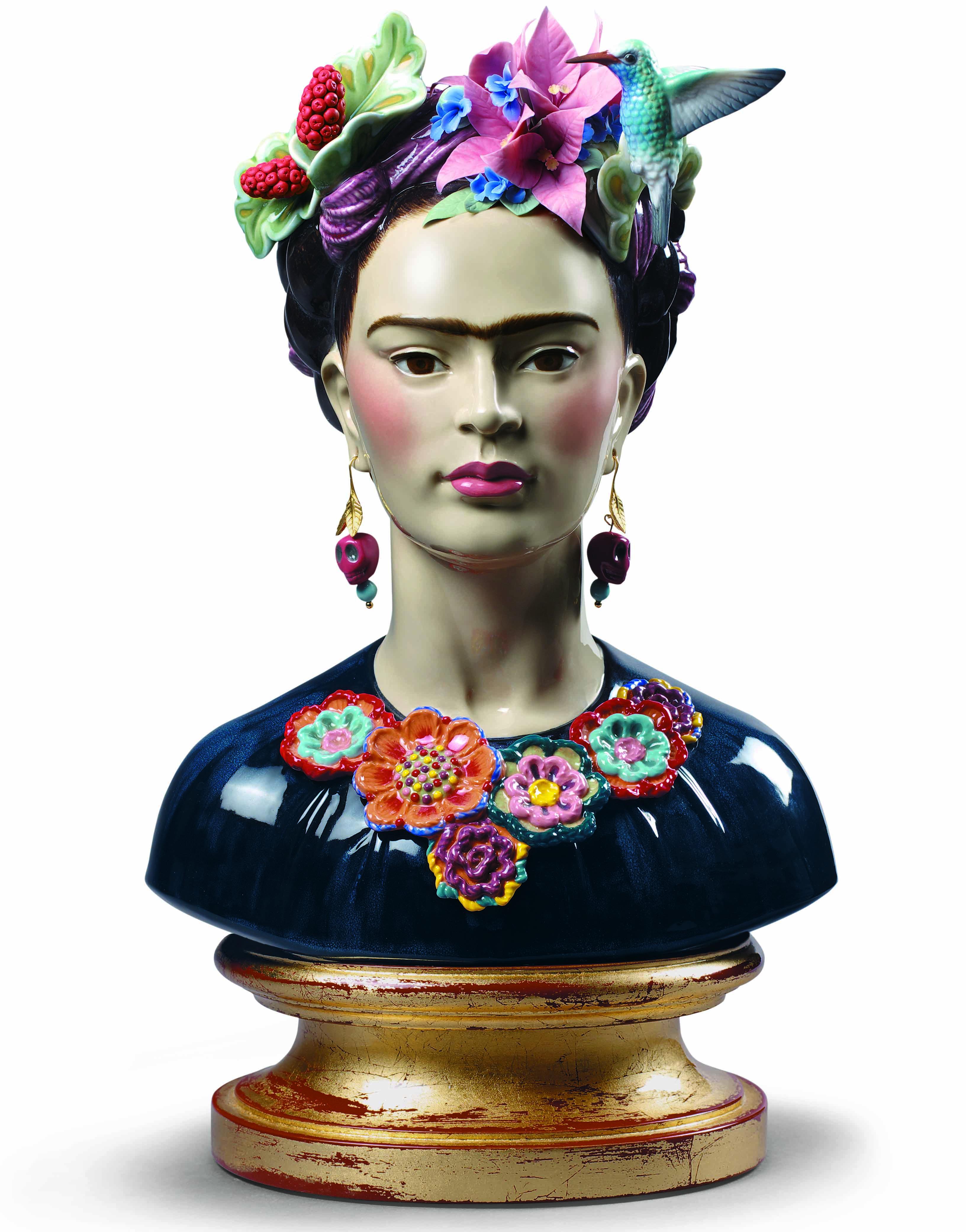 lladró How To Decorate A Sideboard With Lladró Porcelain lladro presenta frida kahlo una mirada a la mujer e icono mundial