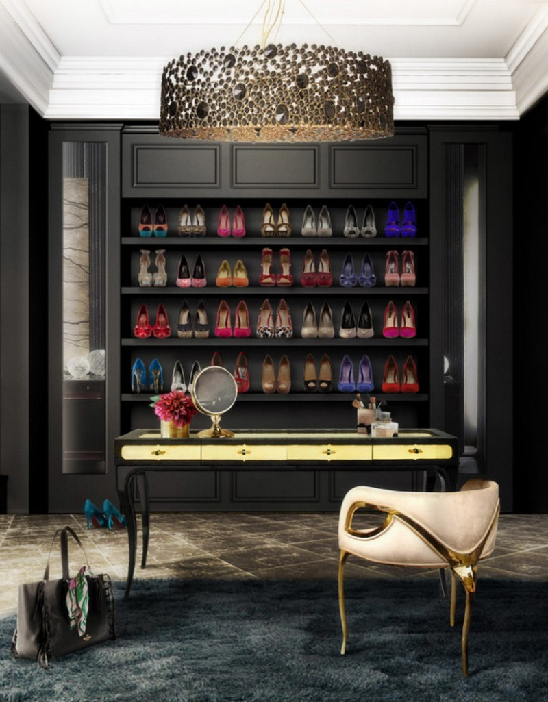 Walk-in Closets 10 Inspirational  Walk-in Closets Ideas luxury closet 1