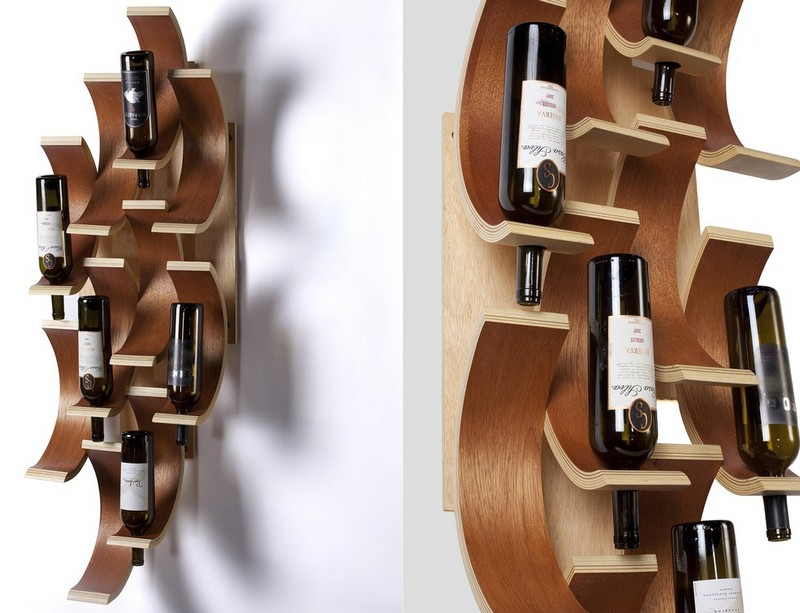 Wine Racks Amazing Wine Racks and Cabinets to Complete your Decoration wine rack 1
