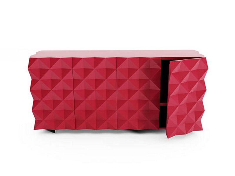 best furniture Best Furniture Best Furniture Designs:The Classic Rocky Collection from Joel Escalona 2 rocky credenza rojo red